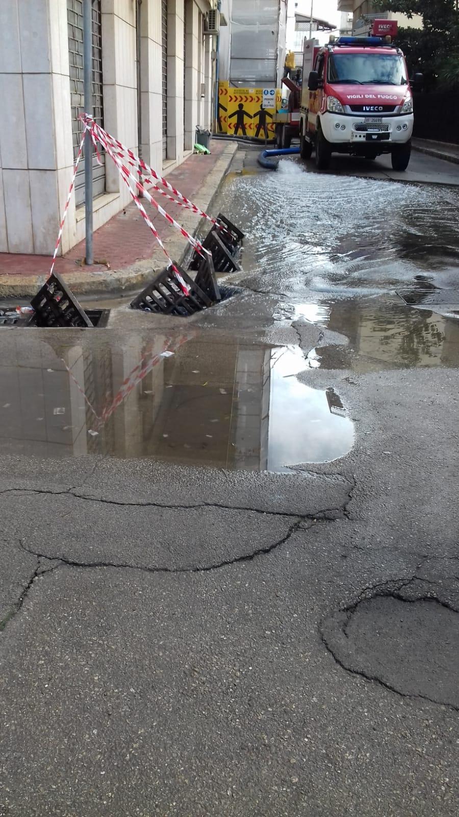 Galatina. Evento alluvionale del 23 ottobre 2018
