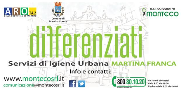 Martina Franca. Servizio di Raccolta nella Zona Industriale